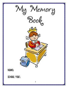 My Memory Book Printables & Template
