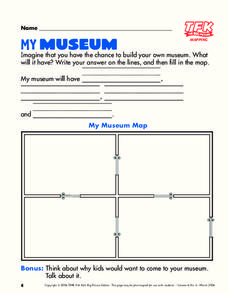 My Museum Lesson Plan