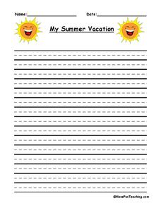 summer vacation 3 essay I shall be highly obliged if you kindly help me to correct the following essay summer vacation is probably the happiest period in my life my summer vacation.
