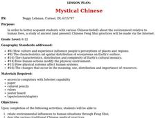 Mystical Chinese Lesson Plan