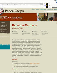 Narrative Cartoons Lesson Plan