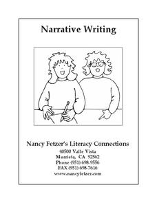 Narrative Writing Unit