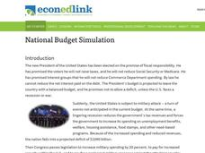 National Budget Simulation Lesson Plan