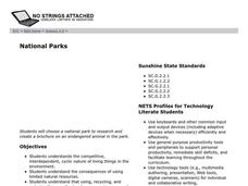 National Parks Lesson Plan