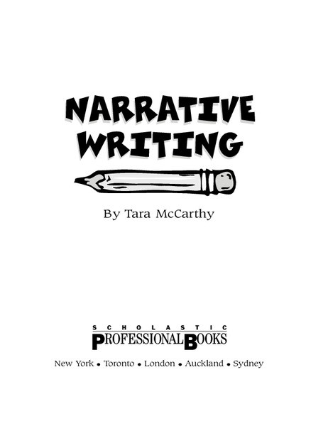 Narrative Writing Activities & Project