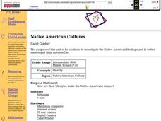 Native American Cultures Lesson Plan