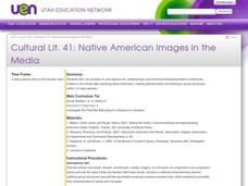 Native American Images in the Media Lesson Plan