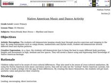 Native American Music and Dance Activity Lesson Plan