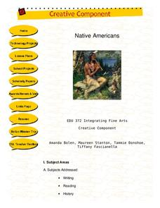 Native Americans Lesson Plan