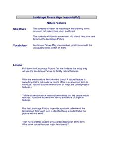Natural Features Lesson Plan