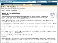 Natural Selection Lesson Plan
