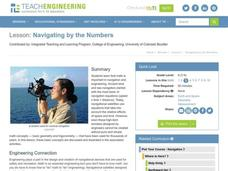 Navigating by the Numbers Lesson Plan