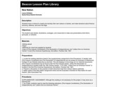 New Nation Lesson Plan