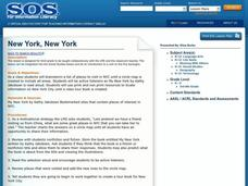 New York, New York Lesson Plan