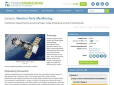 Newton Gets Me Moving Lesson Plan