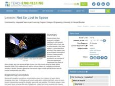 Not So Lost in Space Lesson Plan