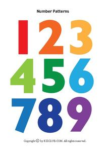 Number Patterns Lesson Plan