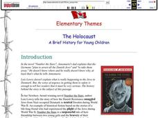 Number the Stars The Holocaust Worksheet