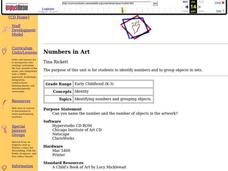 Numbers In Art Lesson Plan