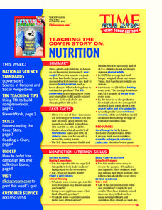 Nutrition Lesson Plan
