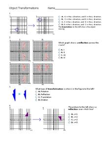 Object Transformations Worksheet