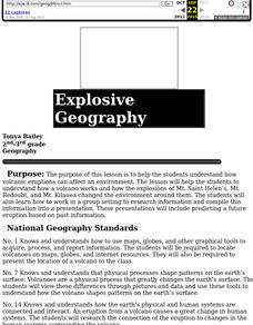 Explosive Geography Lesson Plan