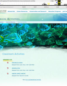 Oceans All Over Lesson Plan