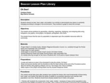 Oh Deer! Lesson Plan