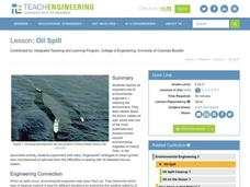Oil Spill Lesson Plan