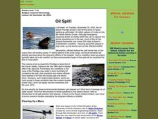 Oil Spill! Lesson Plan