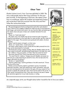 Oliver Twist Lesson Plan