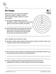 On Target Worksheet