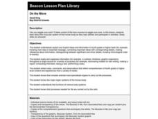 On the Move Lesson Plan