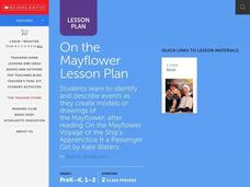On the Mayflower Lesson Plan Lesson Plan