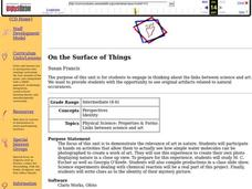On the Surface Of Things Lesson Plan