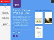 Once Upon a Pop-Up Book Lesson Plan