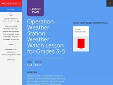 Operation Weather Station Lesson Plan