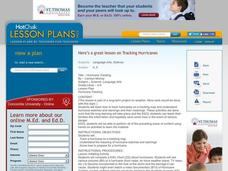 Hurricane Tracking Lesson Plan