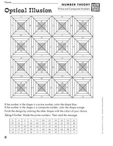 Optical Illusion Worksheet