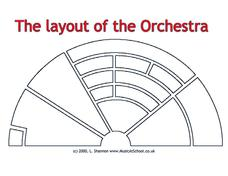 Orchestra Layout Worksheet