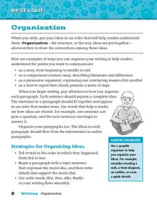 Organization Worksheet