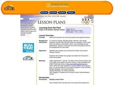 Origin of the Modern Olympic Games Lesson Plan