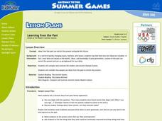 Origin of the Modern Summer Games Lesson Plan
