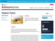 Orphan Trains Lesson Plan