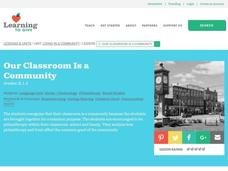 Our Classroom Is a Community Lesson Plan