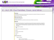 Our Families, Yours, and Mine Lesson Plan