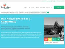 Our Neighborhood as a Community Lesson Plan