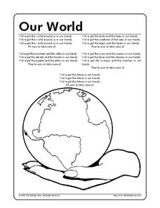 Our World Worksheet