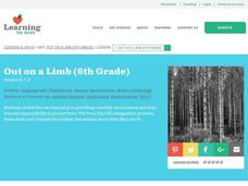 Out on a Limb: Earth Day Lesson Plan
