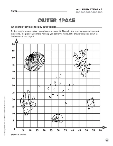 Plotting Coordinates Picture Lesson Plans & Worksheets
